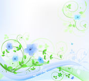 Abstract Floral Stock Photo