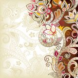 Abstract Floral. Illustration of abstract floral background in asia style Stock Images