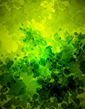Abstract floral bacground illustration Royalty Free Stock Image