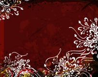 Abstract floral background. Color design pattern, background colors Royalty Free Stock Photos