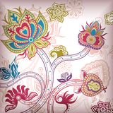 Abstract Floral Background Royalty Free Stock Photography