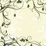 Abstract floral background. With place for your text.Vector illustration in AI-EPS8 format Stock Images