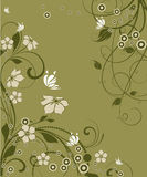 Abstract floral background. Stock Images