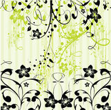 Abstract floral background. Design element Royalty Free Stock Photography