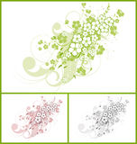 Abstract floral background. Royalty Free Stock Photography