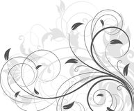 Abstract floral background. Stock Photos