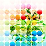 Abstract Floral Background Royalty Free Stock Images