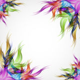 Abstract floral background. Beauty abstract floral background for your text Royalty Free Stock Images