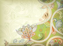 Abstract Floral Background. Illustration of abstract floral background in asia style Stock Photos