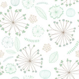 Abstract floral background. Seamless pattern with colorful floral ornament Stock Photos