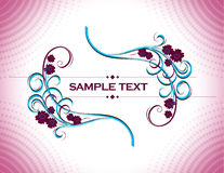 Abstract Floral Background. Royalty Free Stock Photo