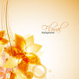 Abstract floral background. EPS 10 Royalty Free Stock Image