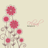 Abstract floral background. EPS 10 Royalty Free Stock Photos