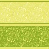 Abstract floral background Stock Image