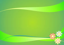 Abstract floral background. Illustration Stock Photography