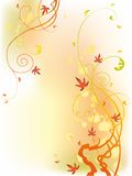 Abstract floral background. Design for card, background or wallpaper Royalty Free Stock Photo