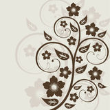 Abstract floral background. With place for  text Royalty Free Stock Images