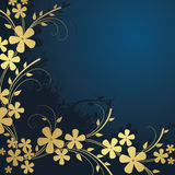 Abstract floral background. With place for your text Royalty Free Stock Photos