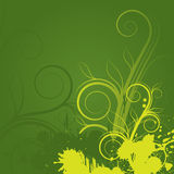 Abstract floral background. With space for text Stock Photography