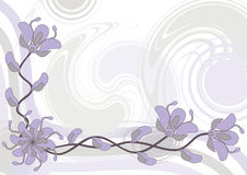 Abstract floral background,  Stock Images