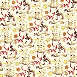 Abstract floral background D Stock Photos