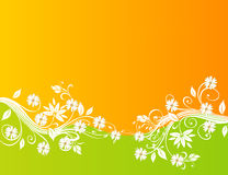 Abstract Floral Background Design Royalty Free Stock Image
