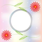 Abstract floral background for a design Royalty Free Stock Photos