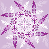 Abstract floral background, elements for design, vector. Illustration royalty free illustration