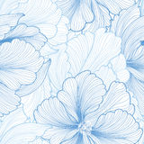 Abstract floral background. Flourish tiled pattern Stock Photos