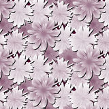 Abstract floral background. Flowers fabric. Royalty Free Stock Photo