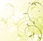 Abstract floral background with free space your te Stock Photography