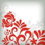 Abstract floral background in grunge style Royalty Free Stock Photography
