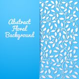 Abstract floral background with holly Royalty Free Stock Image