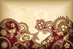 Abstract Floral Background. Illustration of Abstract Floral Background Royalty Free Stock Photography