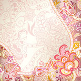 Abstract Floral Background Stock Photography
