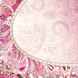 Abstract Floral Background. Illustration of abstract floral background in asia style Royalty Free Stock Photos