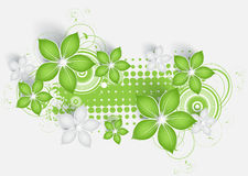 Abstract floral background Royalty Free Stock Photo