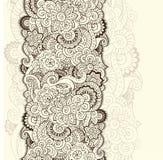 Abstract floral background pattern in vector lizenzfreie abbildung