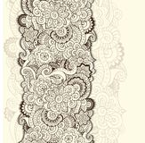 Abstract floral background pattern in vector. Royalty Free Stock Photo
