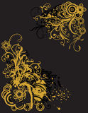 Abstract floral background with place for your tex. T Royalty Free Stock Photos