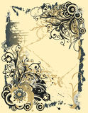 Abstract floral background with place for your tex. T Royalty Free Stock Photography
