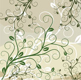 Abstract floral background with place for your tex. T Royalty Free Stock Image
