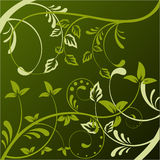 Abstract floral background with place for your tex Royalty Free Stock Images