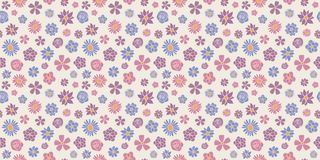 Abstract floral background - seamless pattern with spring flowers. Mother`s Day, Woman`s Day and Valentine`s Day. stock photos
