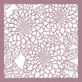 Abstract  floral   background. Seamless pink abstract  floral   background Royalty Free Stock Photography