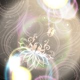 Abstract floral background with shine, glow blur, elegant design Royalty Free Stock Photography