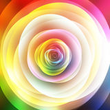 Abstract floral background, top view Royalty Free Stock Images