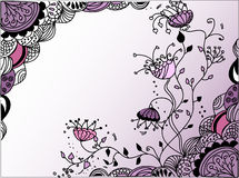 Abstract floral  background,vector Royalty Free Stock Images