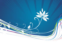 Abstract floral background-vector Stock Images