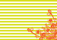 Abstract floral background. Vector. Royalty Free Stock Images